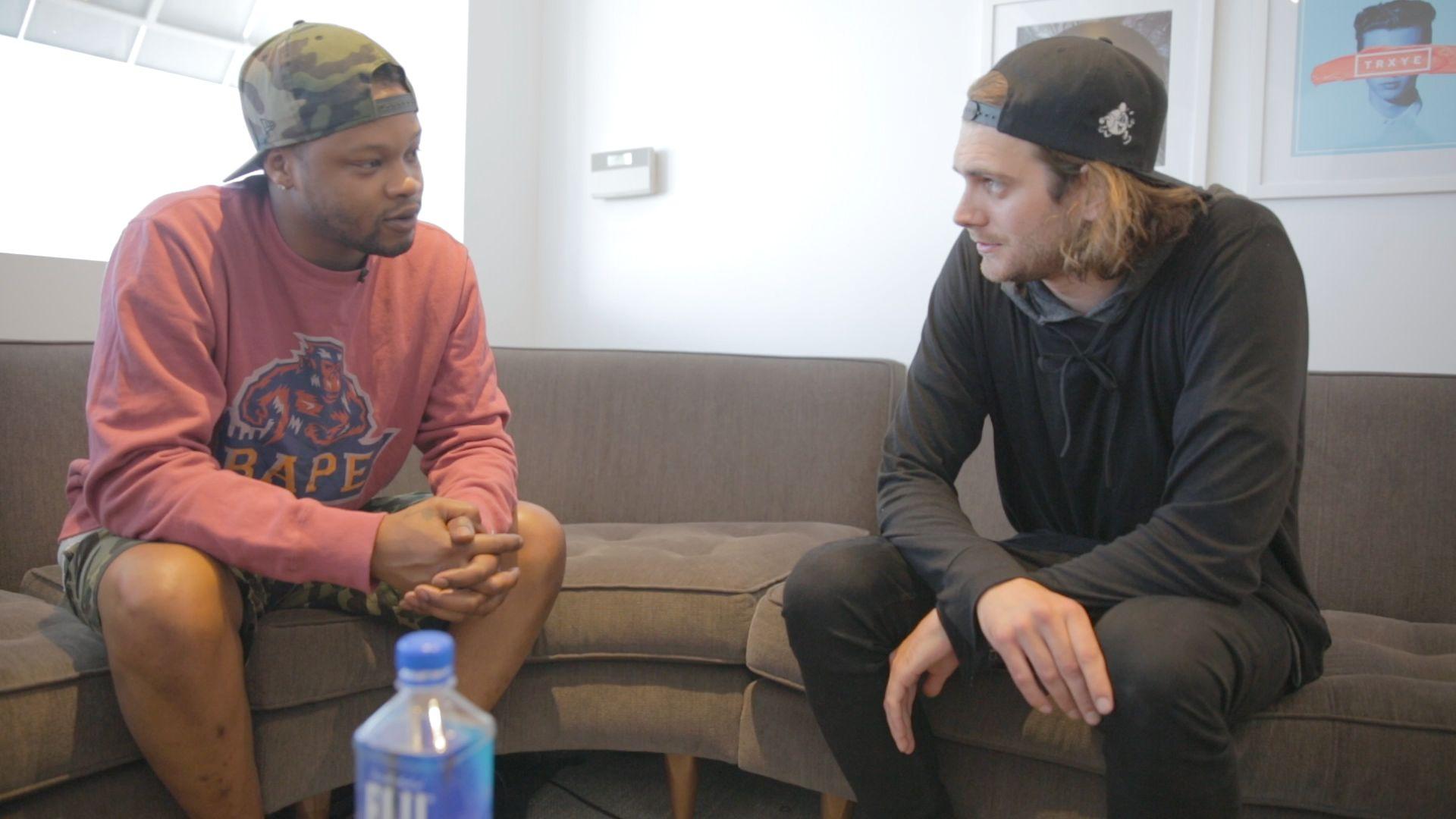 Skinny får satt opp et møte med den internasjonale superstjernen BJ The Chicago Kid på ikoniske Capitol Records. Her gir han en leksjon i hvordan man skal eie et møte.