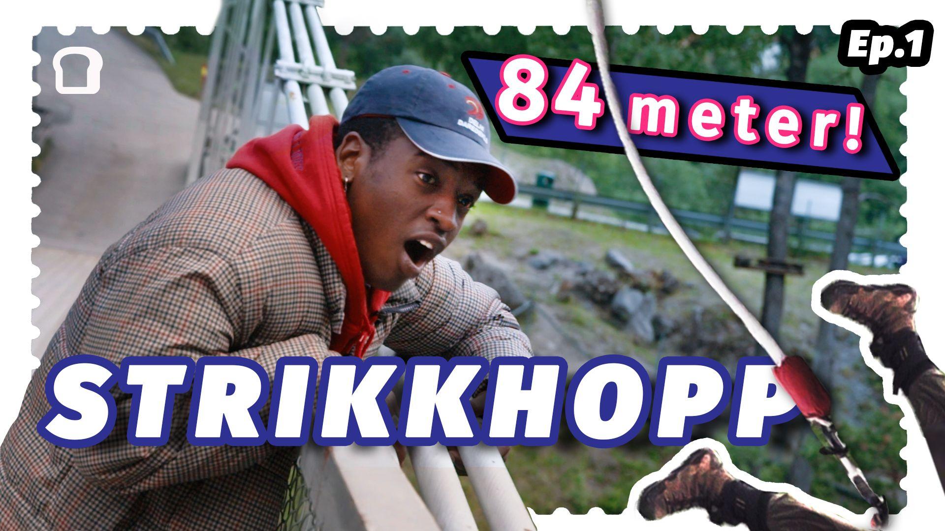 I seriens første episode tar Emil og Morten med Safari til Rjukan hvor han – i følge de – skal få prøve det norskeste av det norske, nemlig strikkhopping.  Dette byr på en mer enn forventet stor utfordring for Safibassen, og en veldig god historie om en tidligere Zambisk president.