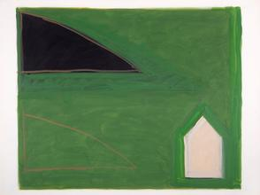 Study for House and Hill, 1980-83