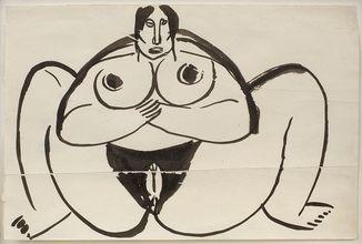 Erotic Nude, 1913/14