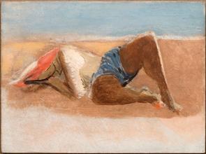 Reclining Woman on Beach, c.1938