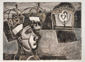 Signalman and Light, 1950