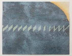 Study for 'Interlocking Fence', c.1979