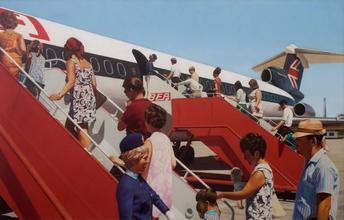 Boarding the Plane, c.1960