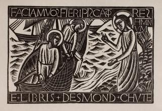 Fishers of Men (Bookplate for Desmond Chute)
