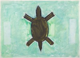 Study for Turtle with Towers, c.1984