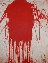 Schüttbild (Spill painting)