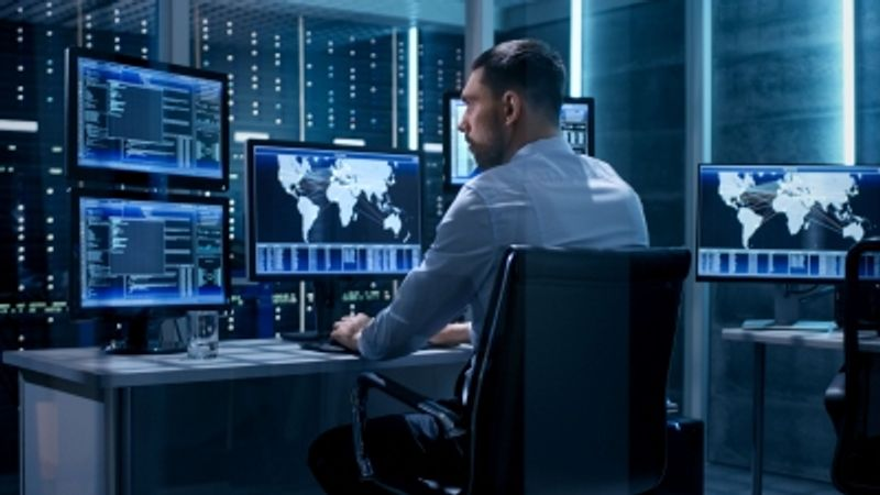 tech control room