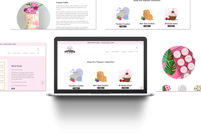 Website Development for Dessert First