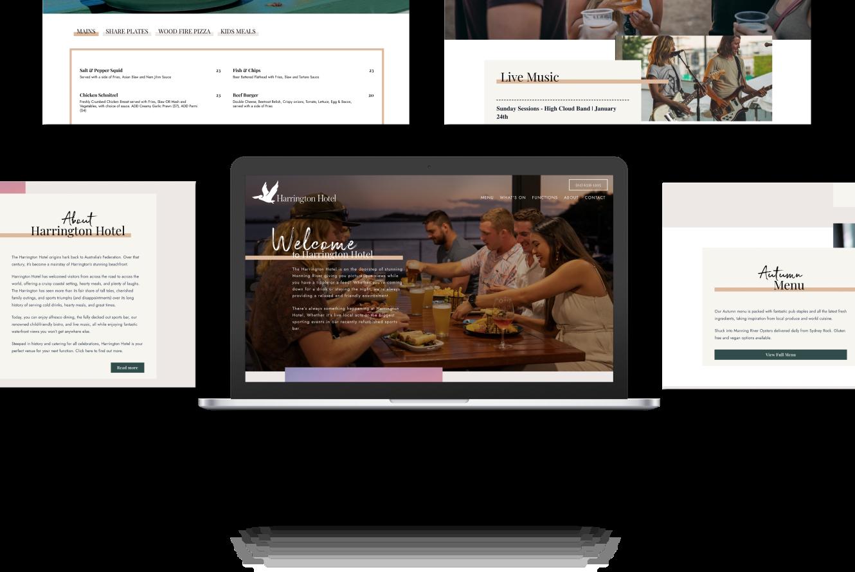 Website Development for Harrington Hotel