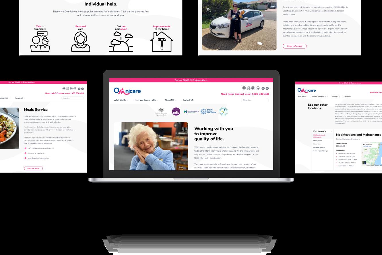 Website Development for Omincare