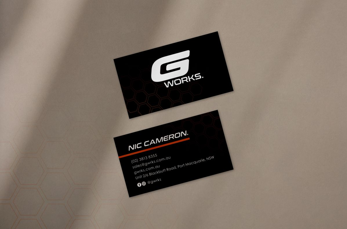 Graphic Design services for G Works