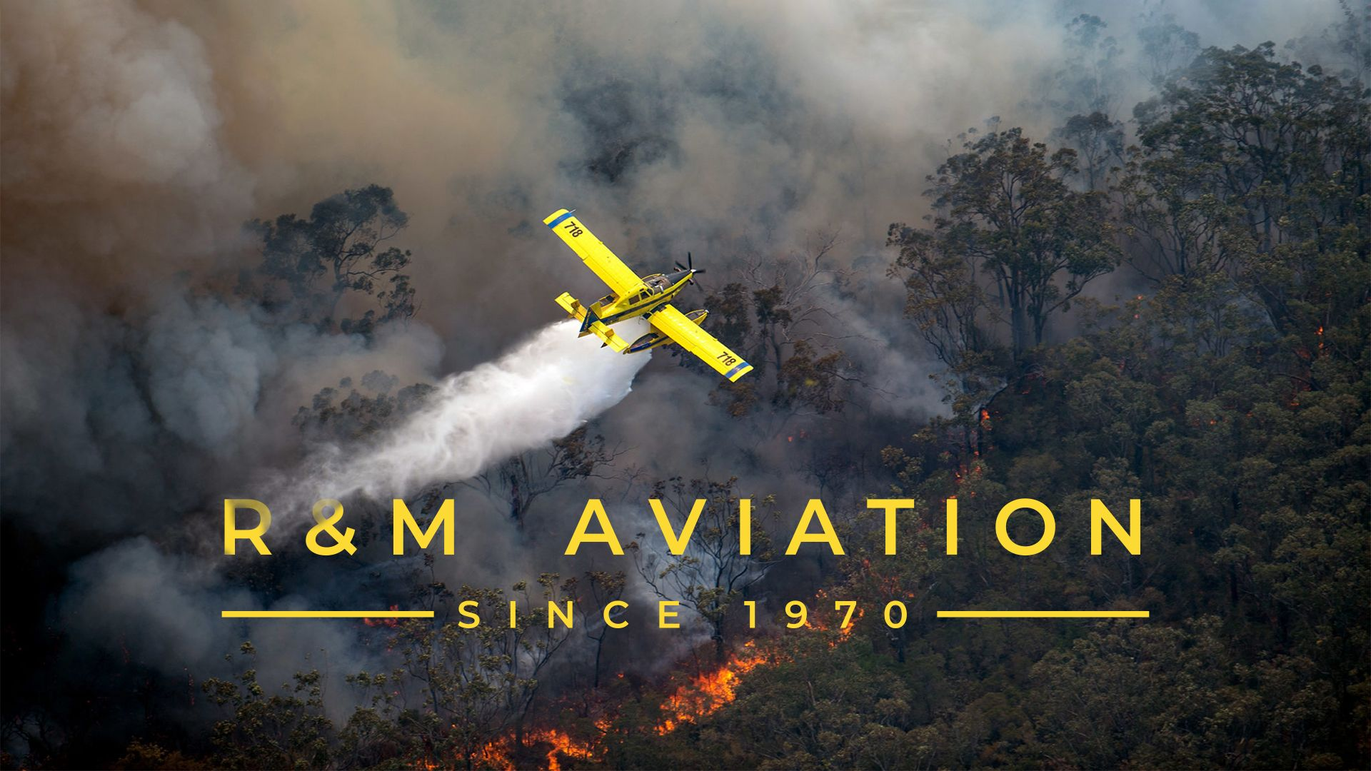 Website Development for R&M Aviation