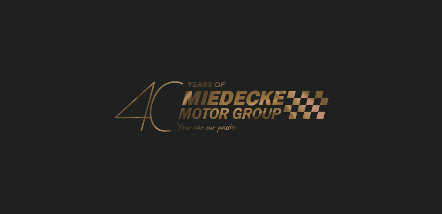 Graphic Design services for Miedecke Motor Group
