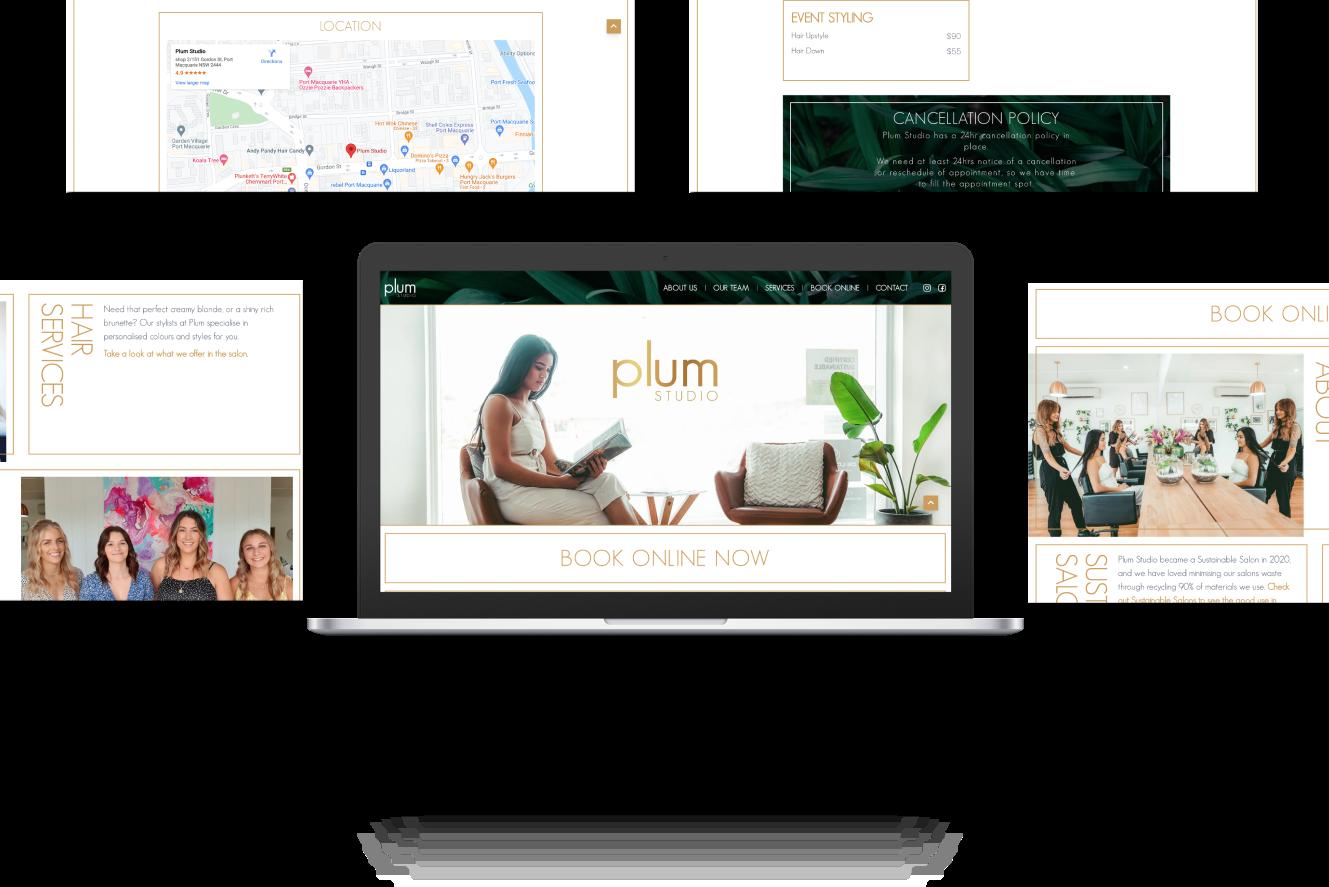Website Development for Plum Studio