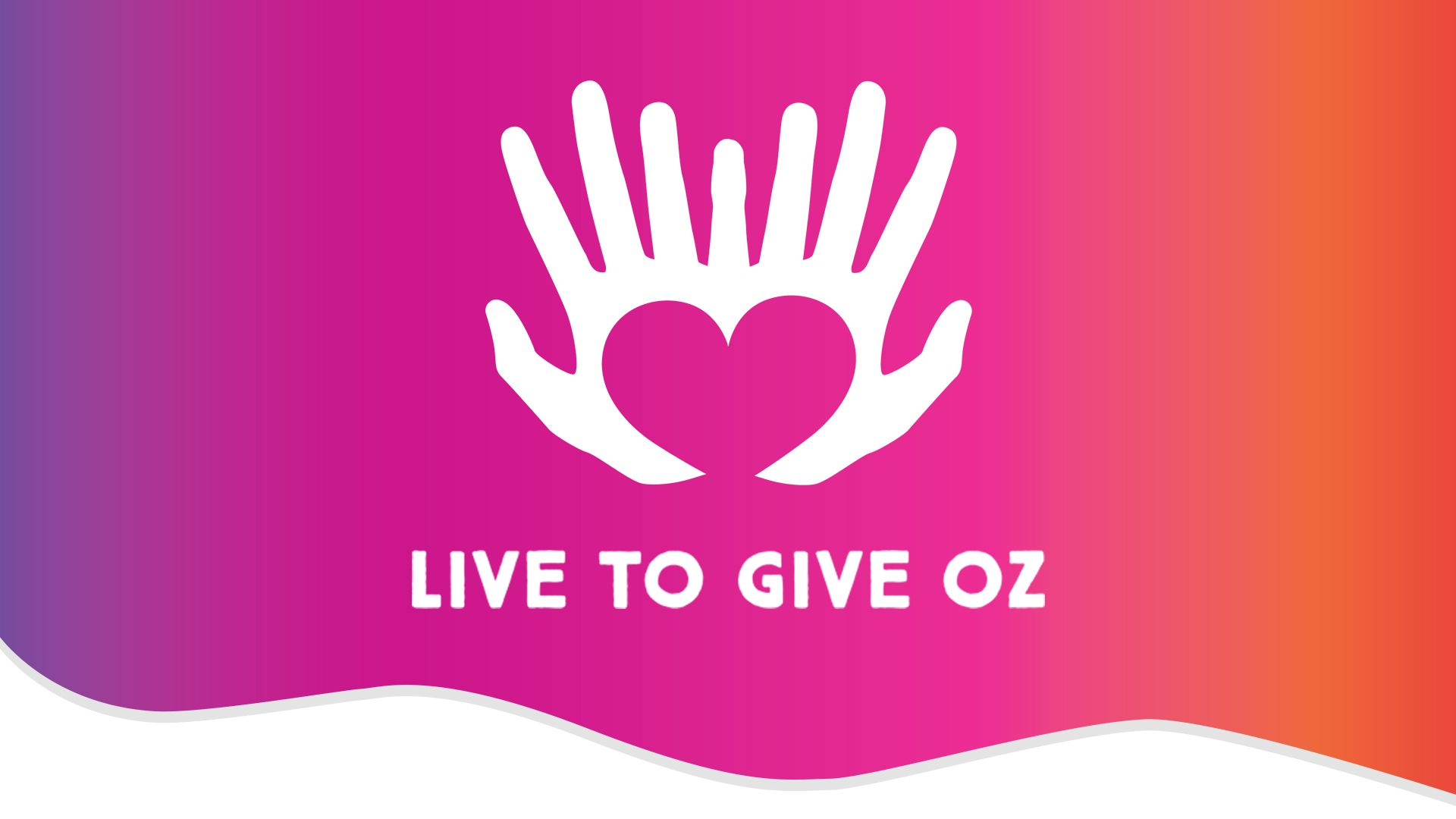 Website Development for Live To Give Oz