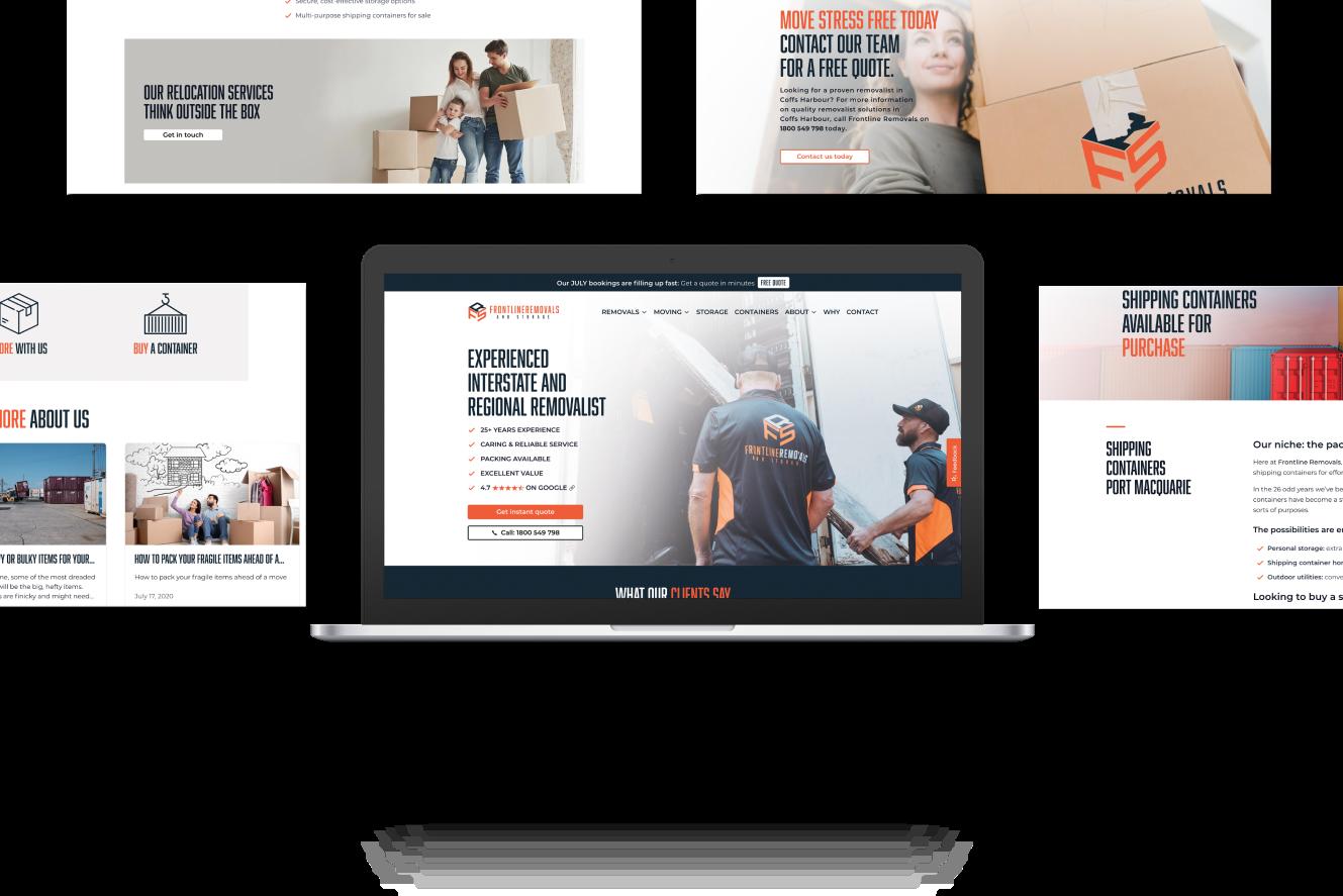 Website Development for Frontline Removals