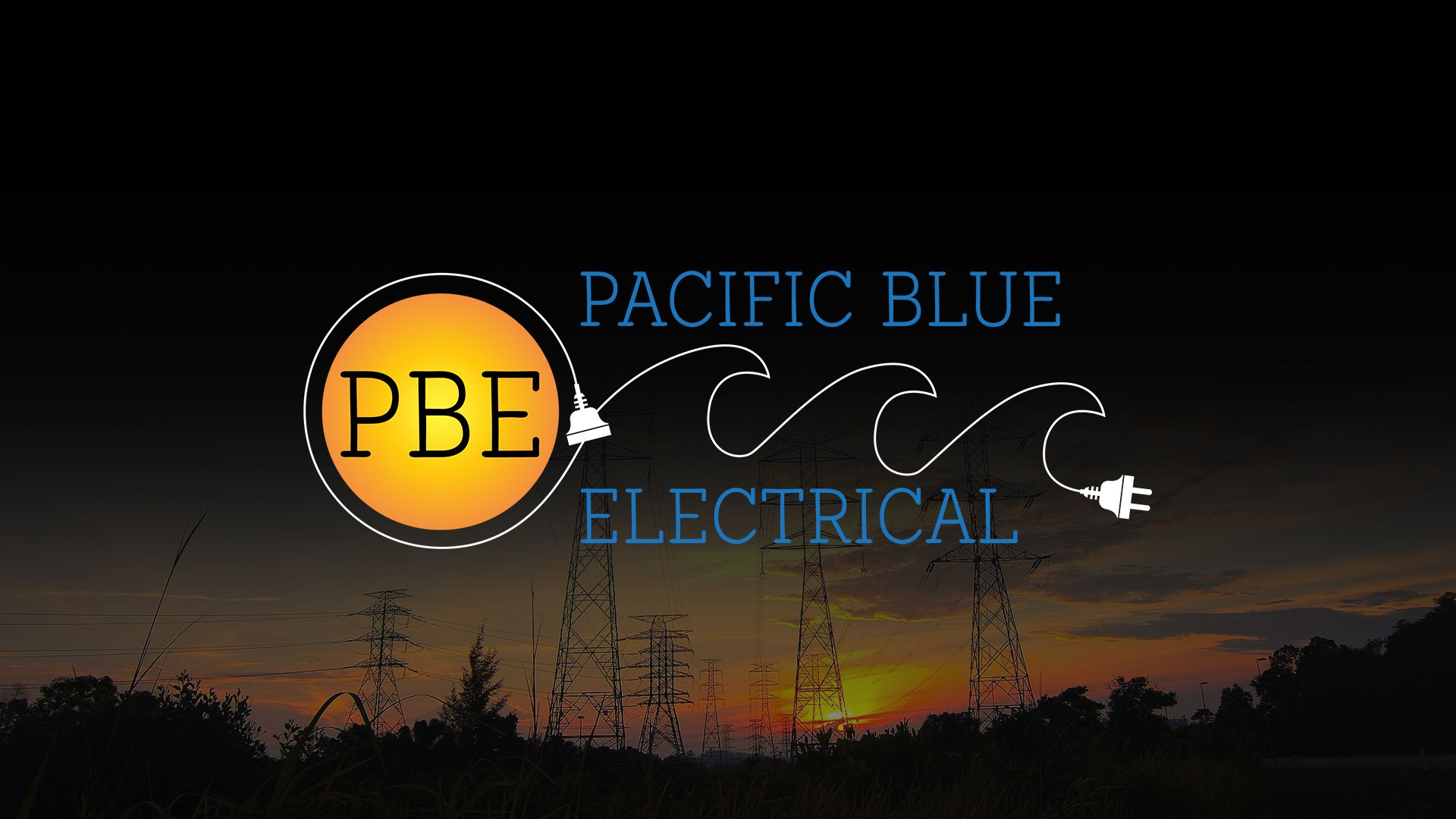 Website Development for Pacific Blue Electrical
