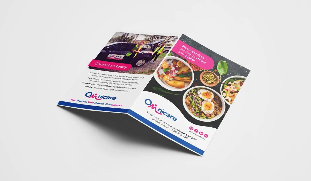 Graphic Design services for Omnicare