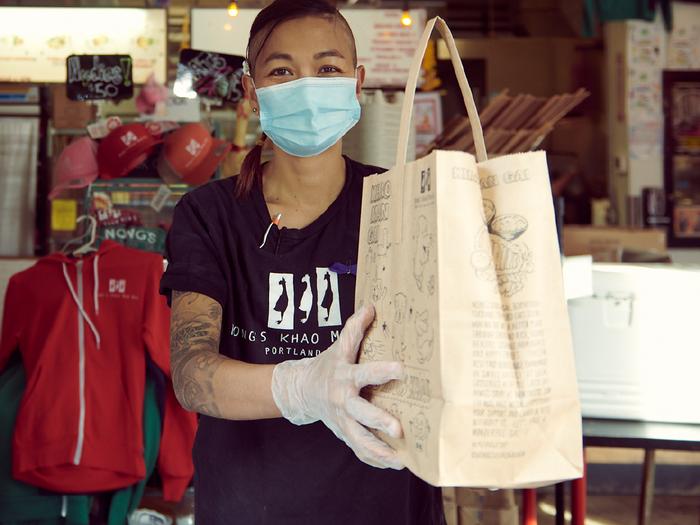 Nong Poonsukwattana, Owner of Nong's Khao Man Gai (via https://khaomangai.com/)