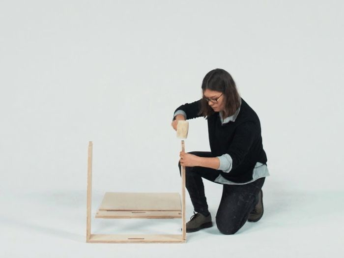 "Image: Youtube, Uploaded by: Dezeen ""Studio Bark's flat-pack U-build system lets anyone self-build"""