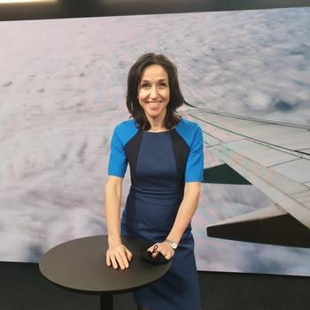 Siri Lill Mannes ledet januar 2021 Luftfartstilsynet sin første digitale sending