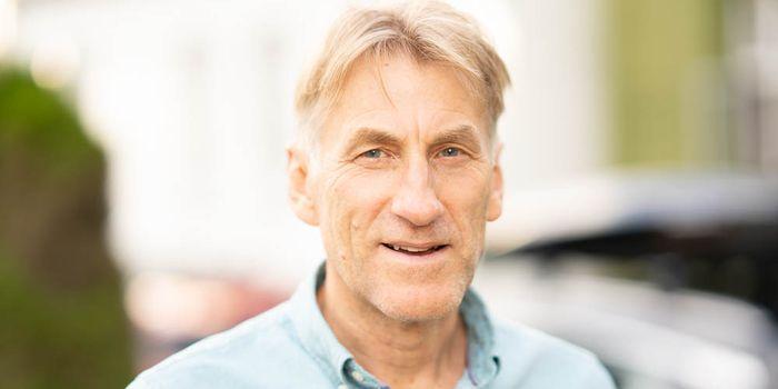 Arne Møller underviser i presentasjon og digital formidling.