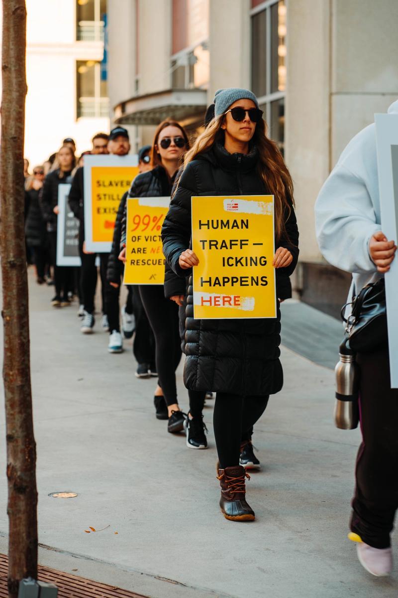 Human Trafficking: Types