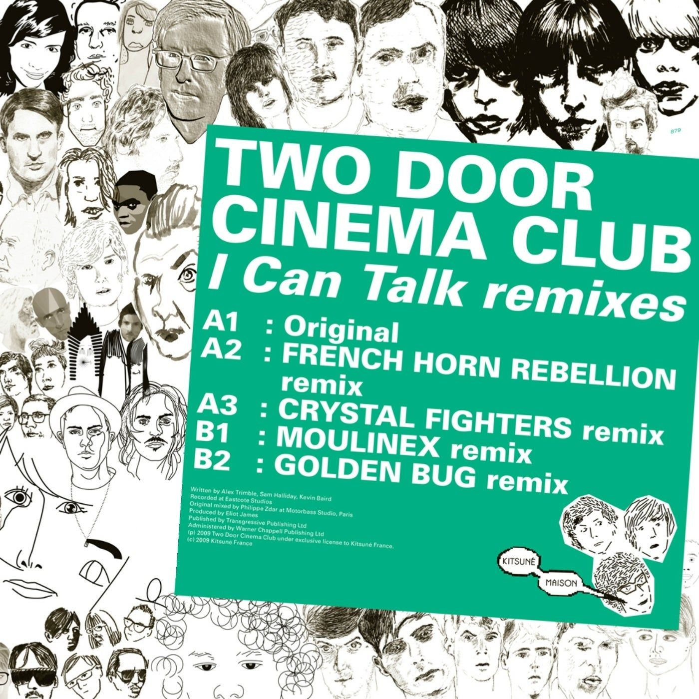 Two Door Cinema Club - Kitsune: I Can Talk Remixes - EP