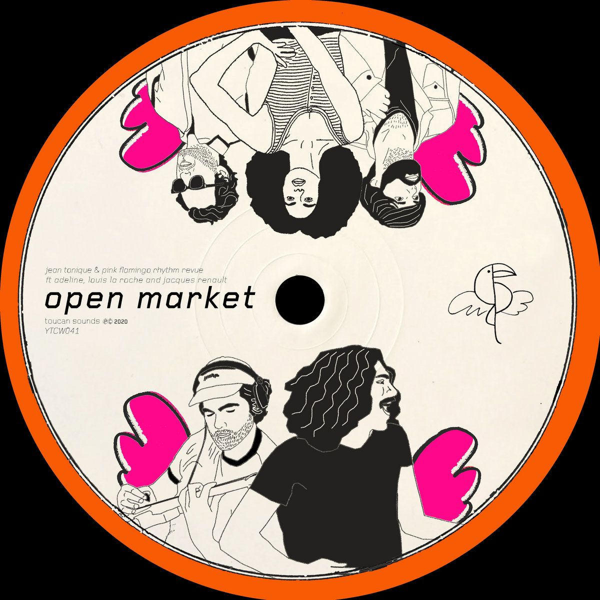 Jean Tonique & Pink Flamingo Rhythm Revue - Open Market