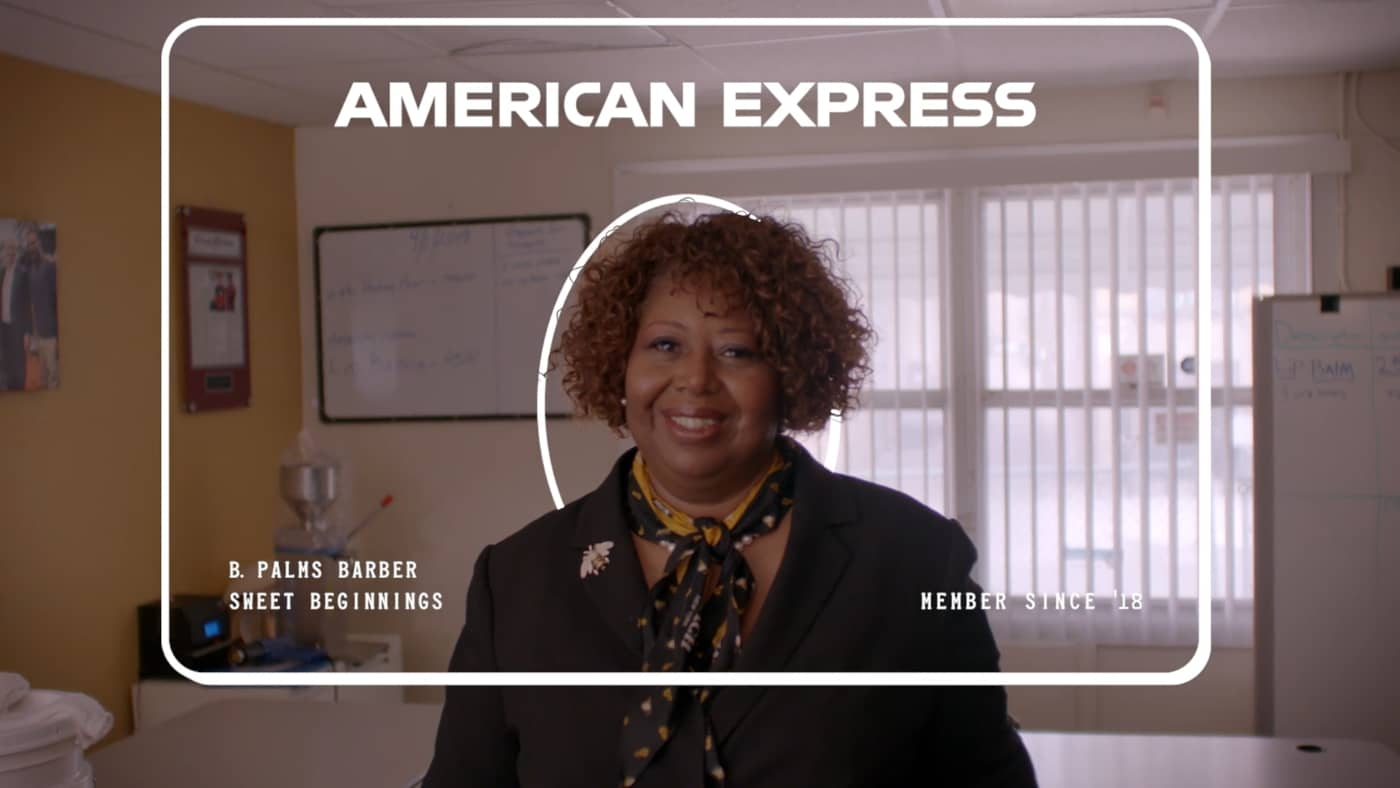 American Express - At Your Back