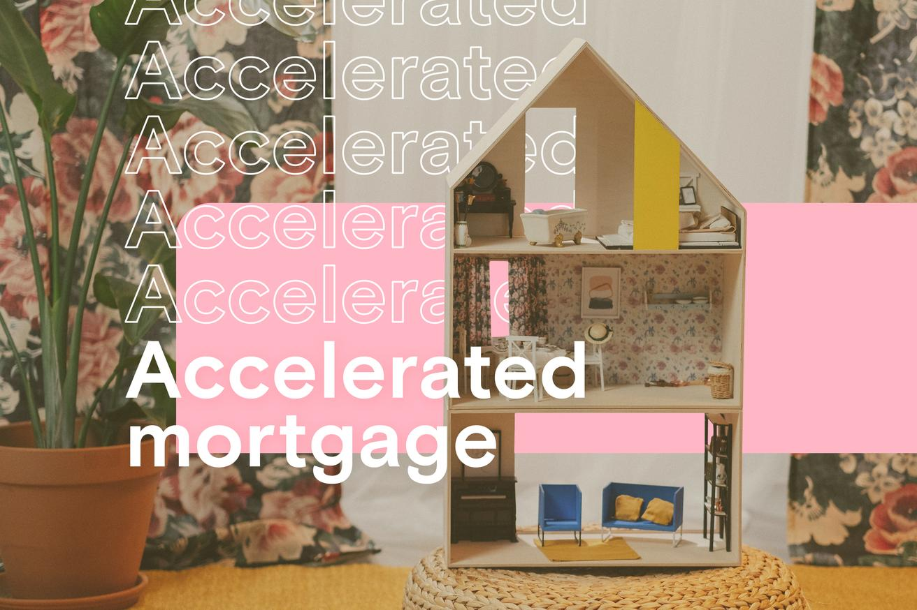 What is an accelerated mortgage payment?