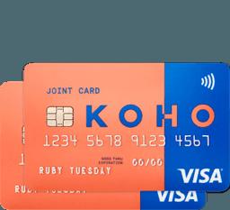 KOHO Carte jointe