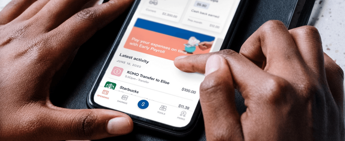 KOHO Money Management App