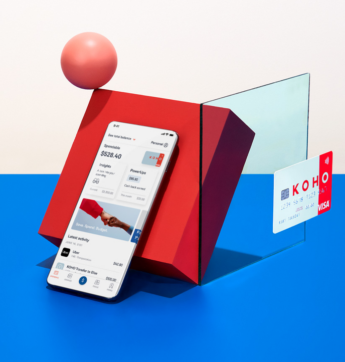 KOHO Prepaid Visa Card & Money Management App