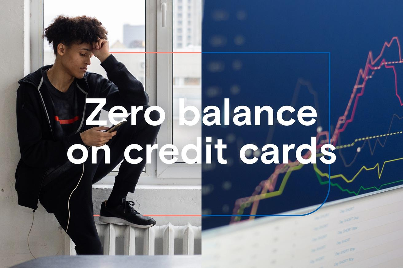 Is it bad to have a zero balance on credit cards?