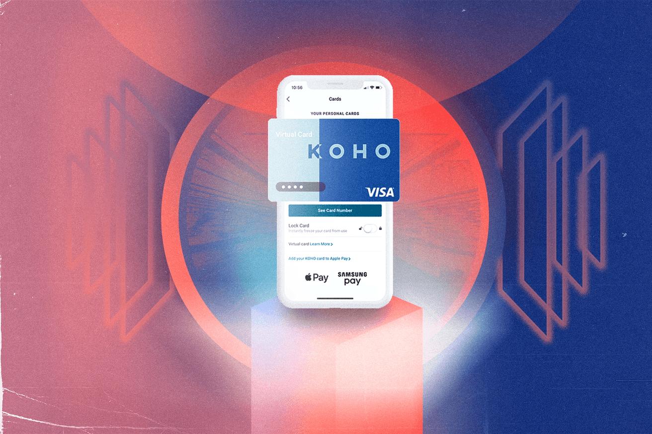 KOHO Carte de crédit virtuelle