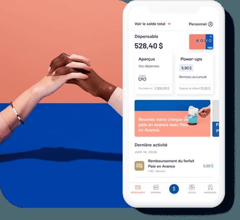 Carte prépayée Visa & App