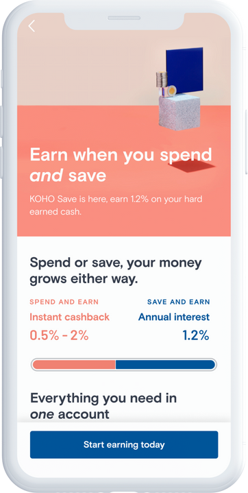 Application KOHO Save