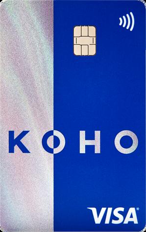 KOHO Premium Visa Card