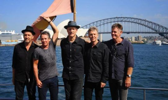 Midnight Oil Kick off Tour with Musical Protest Against Adani Mine, Damage to the Great Barrier Reef