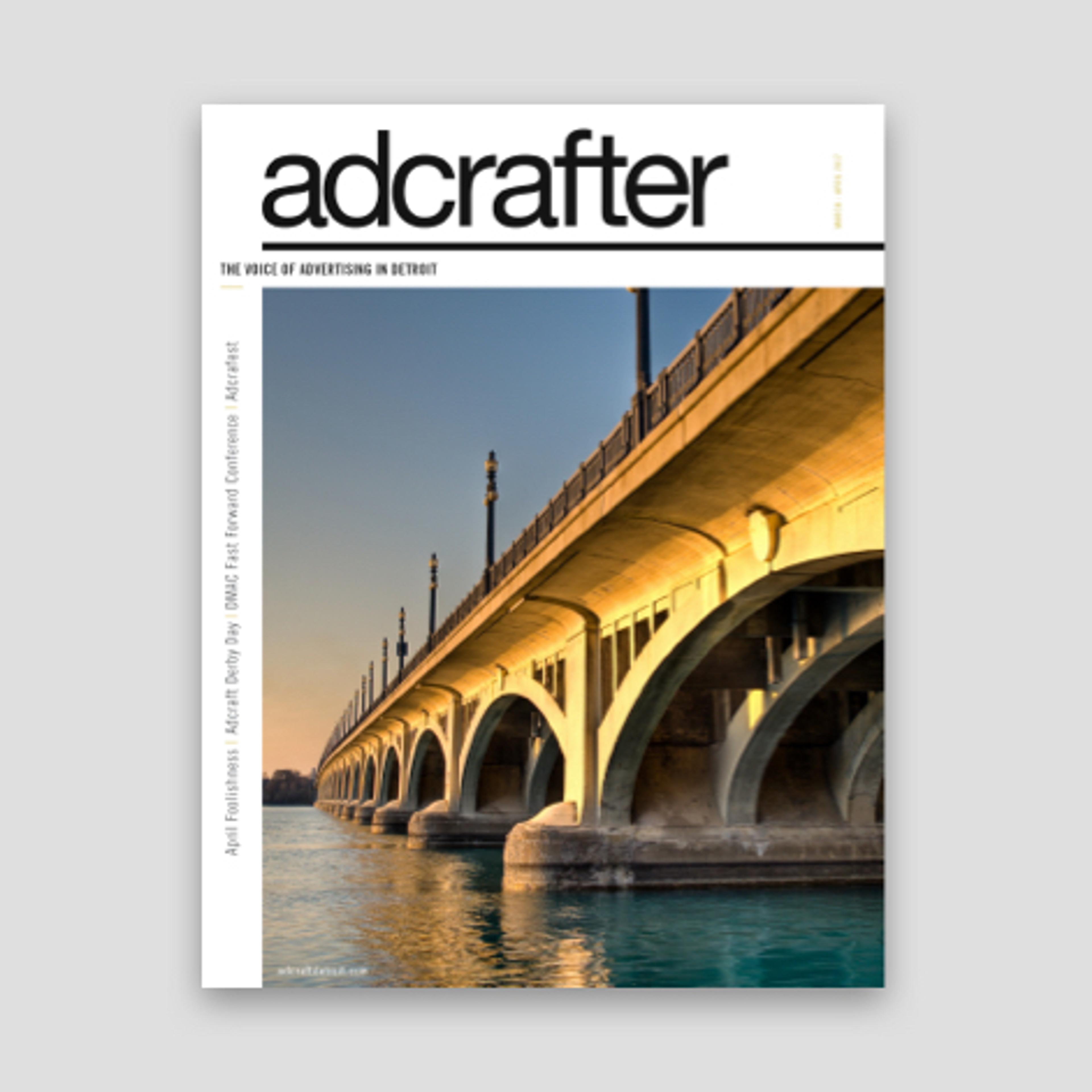 rebranded adcrafter magazine cover