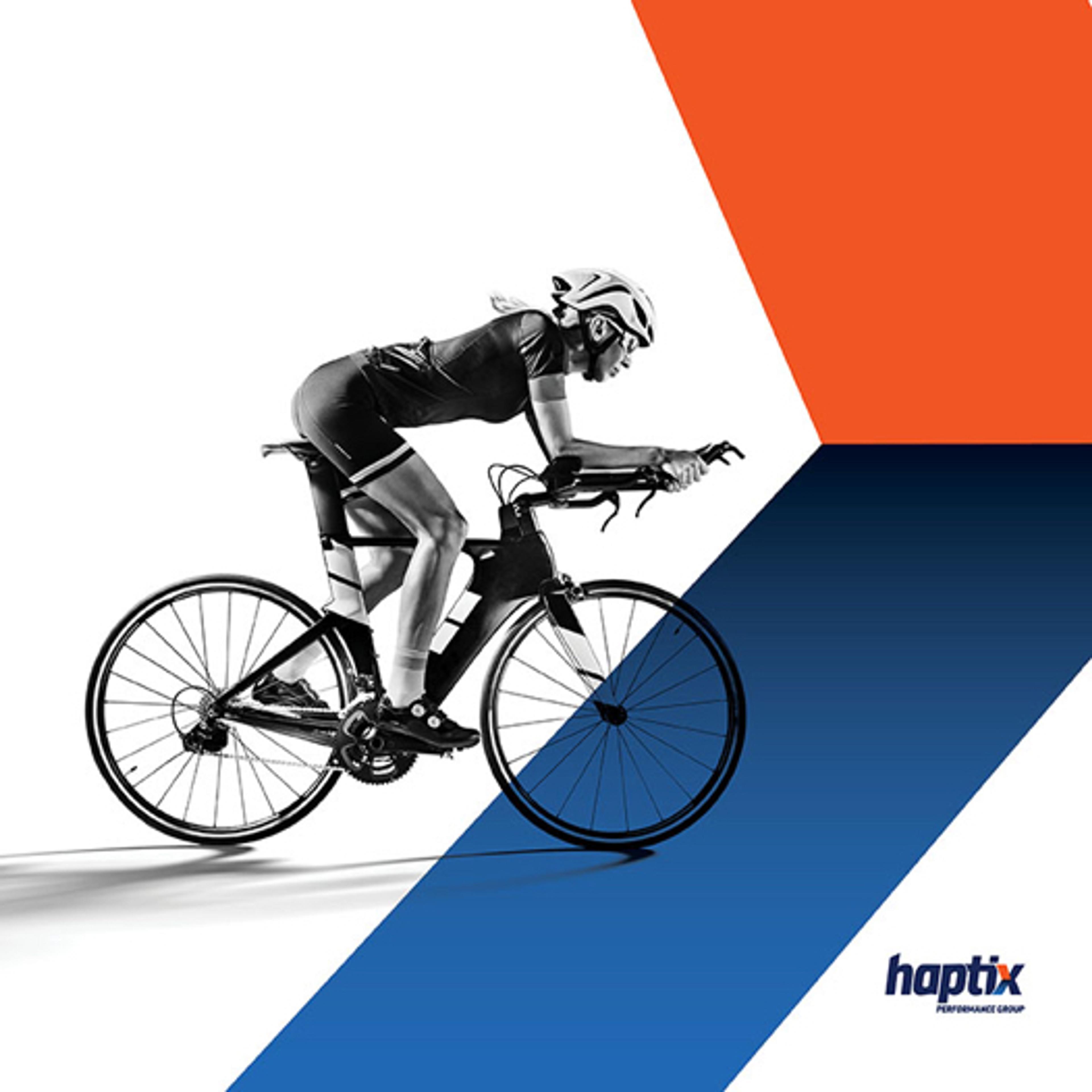 Haptix brand design piece