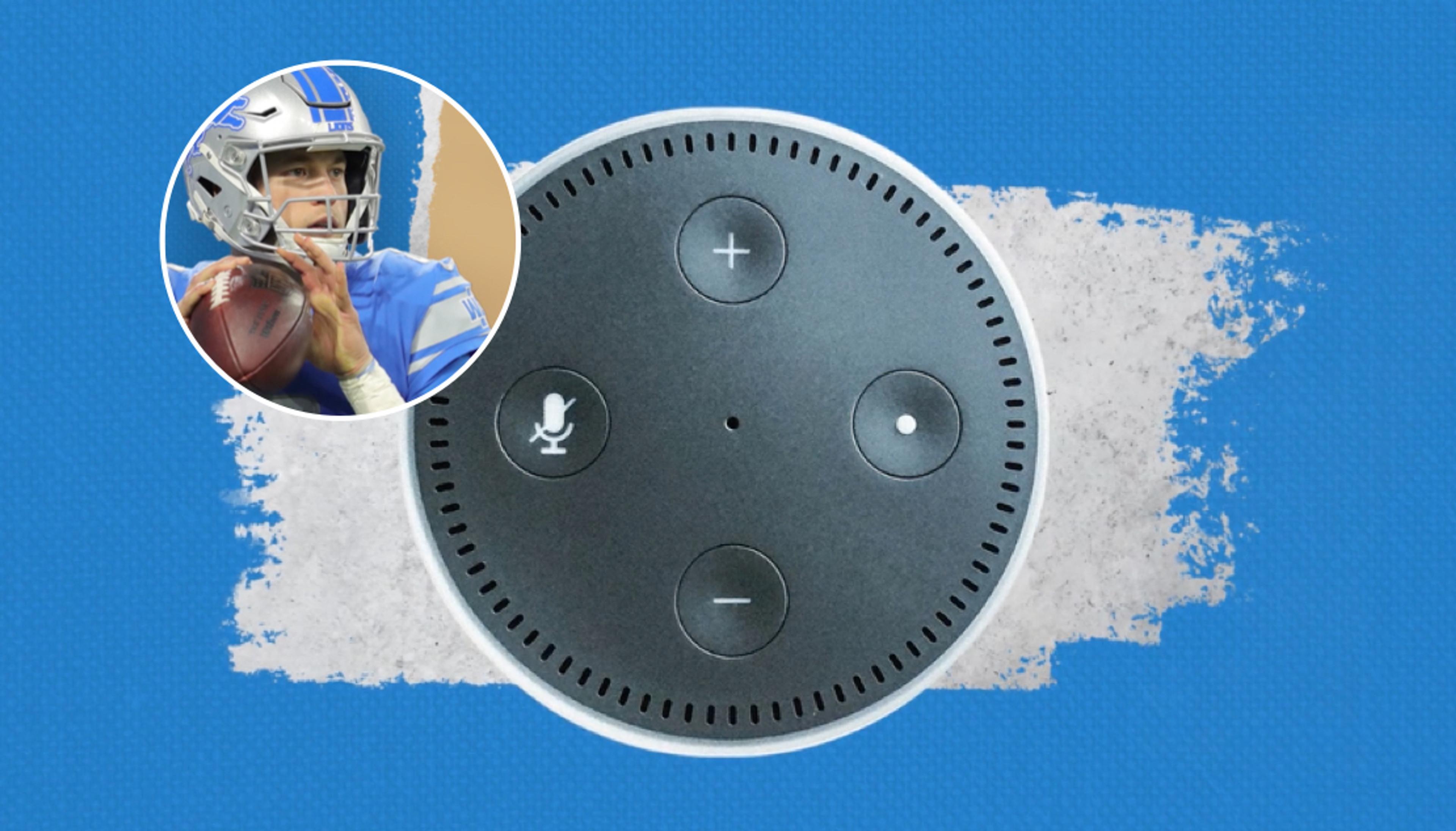 Blue Cross Blue Shield Alexa Skill with Matthew Stafford video