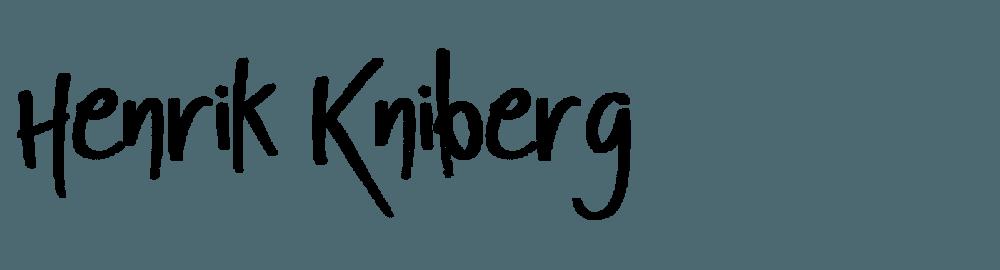 Henrik Kniberg