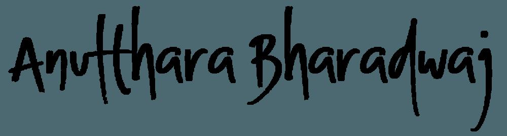 Anutthara Bharadwaj
