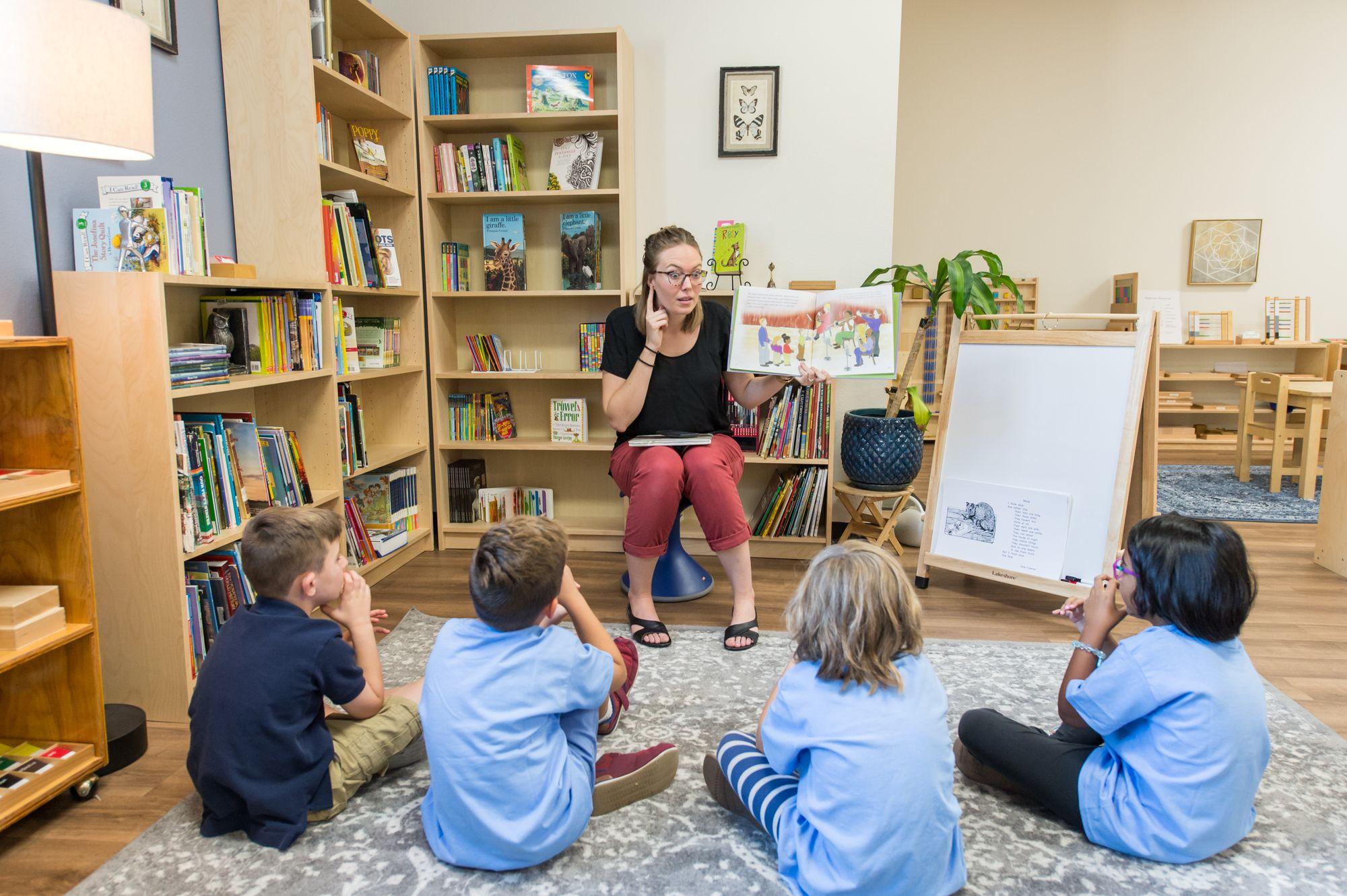 Children's House English Language Literacy Course
