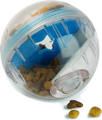 Pet Zone IQ Treat Dispenser Ball Dog Toy