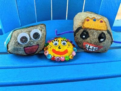 online summer camp arts and crafts activity