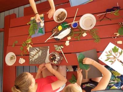 arts and crafts at Canadian Adventure Camp